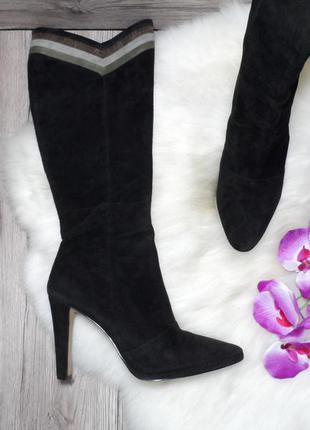 Кожаные сапожки британского модного бренда french connection!!! 39,5 40 р.