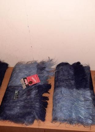 Новые винтажные шарфики шарфы 100% мохер