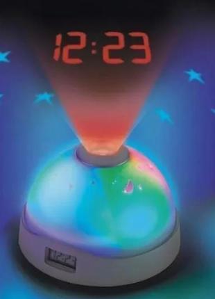 Часы ночник с проектором