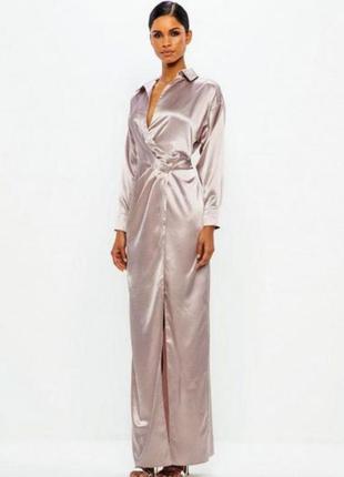 Невероятное платье лавандового цвета