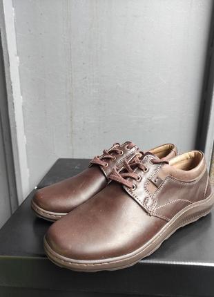 Туфлі шкіряні mateos
