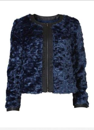 Меховая куртка vila