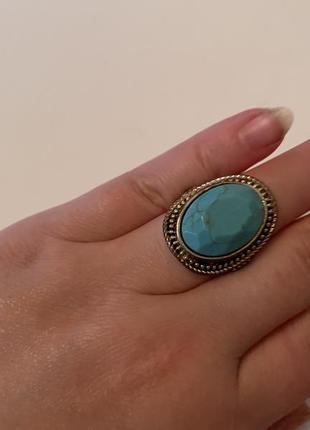 Подарок кольцо колечко бохо мраморный окрас
