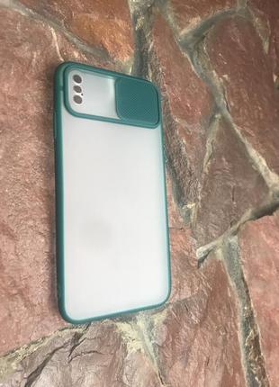 Чехол со шторкой и защитой для камеры для iphone xs max