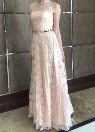 Шикарное платье на выпускной/вечернее платье