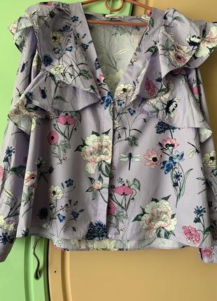 Блуза, рубашка h&m.