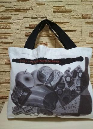Сумка шоппер текстильная