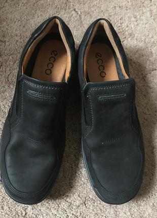 Супер туфли ecco   р.43 стелька 28см до загиба
