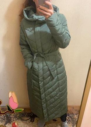 """Демисезонное длинное пальто, """"reserved""""{38-м}"""
