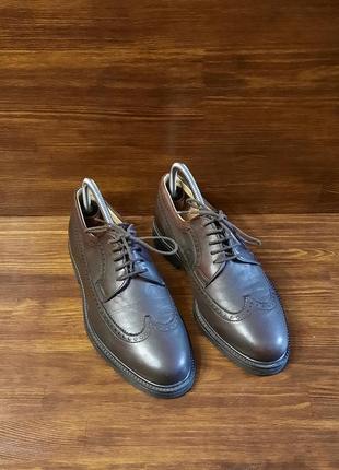 Броги туфли мужские balli италия натуральная кожа размер 40