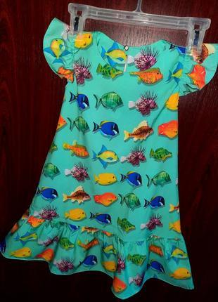 Лёгкое платье/сарафан для модниц +солошка✔