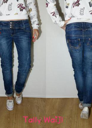Классные плотненькие женские  джинсики  от tally waijl