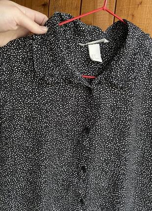 Рубашка / блуза / h&m / легкая / шёлковая