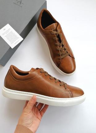 Aquatalia итальянские мужские кожаные туфли люкс бренда