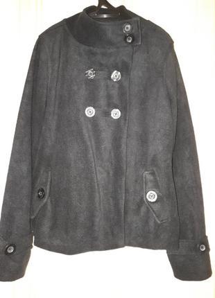 Флиска пальто на подкладке