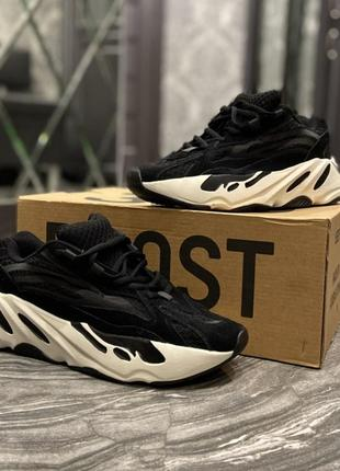 Кроссовки adidas yeezy boost 700 v2 black white