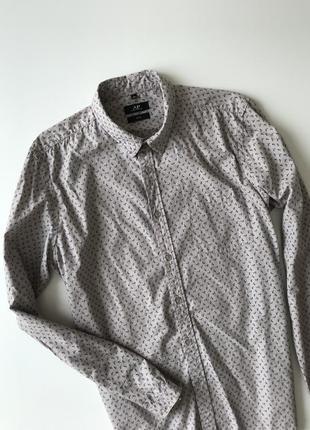 Фірмова сорочка з принтом  avant premier/рубашка мужская ap
