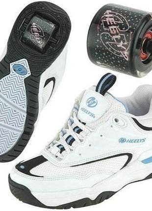 Роликовые кроссовки ролики heelys