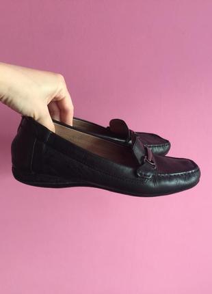 Мегаудобные туфли geox 39 40 размер кожа полностью оринигал на среднюю/широкую стопу