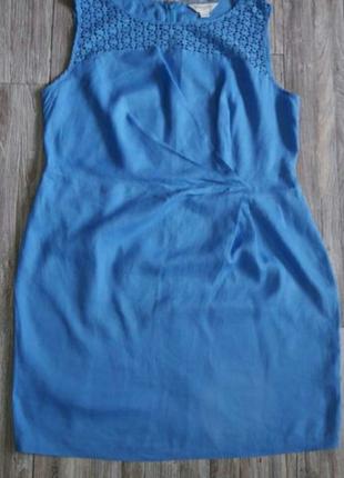 Платье льняное р.18-20