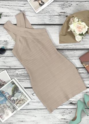Эффектное бандажное платье top shop   dr4296  top shop