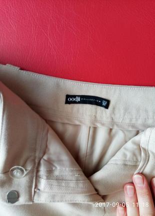Стильная бежевая юбка фирмы oodji