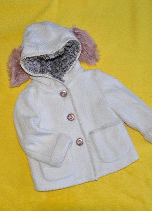 Куртка-пальто next некст 12-18 мес. , можно дольше носить.