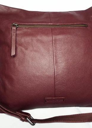 Женская кожанся сумка,сумка натуральная кожа white stuff