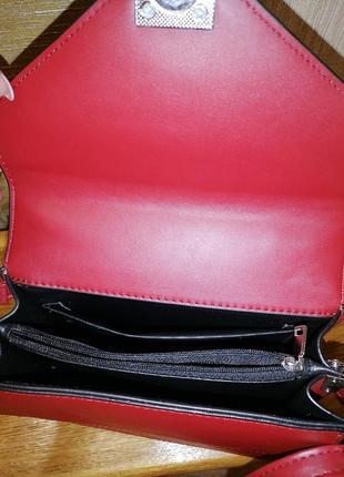 Красная сумочка4 фото