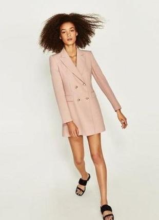 Пиджак-платье, платье-пиджак, сукня-піджак, піджак, пиджак,платье,сукня,пудра,зара,zara