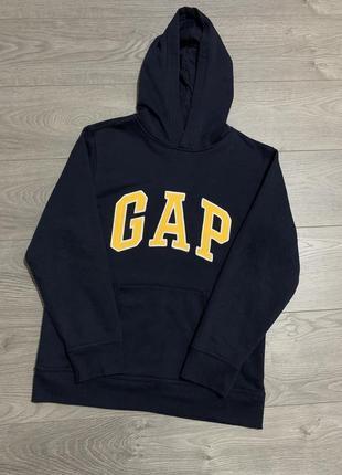 Gap фирменный свитшот, худи с капюшоном, р. xxl. оригинал подросток 13 лет