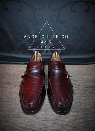 Туфли angelo litrico 42.5 (27.5 cm) italy