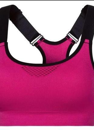 Crivit sport топ-бюстье для женщин со съемными подушечками