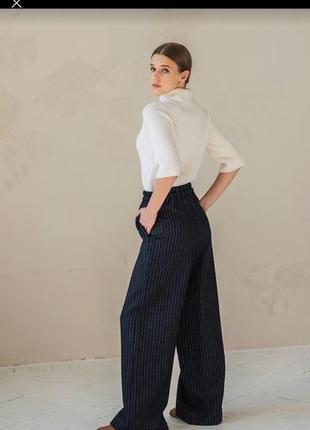 Штаны лён льняные штаны