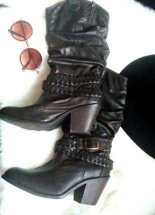 Крутые ковбойские сапоги сапожки ботинки