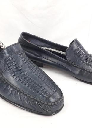 Туфли, макасины оригинал pratesi 43 размер.