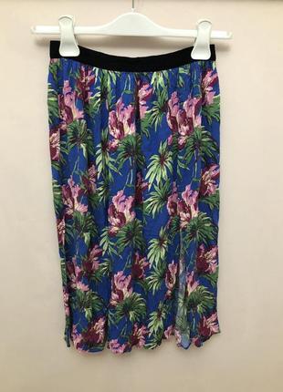 Яркая юбка topshop