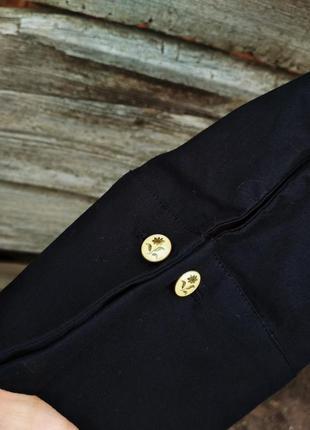 Черная блуза с запонками laura ashley2 фото