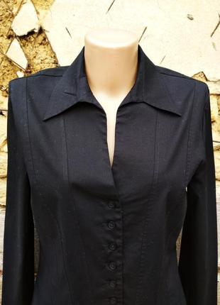 Черная блуза с запонками laura ashley3 фото