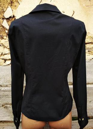 Черная блуза с запонками laura ashley4 фото
