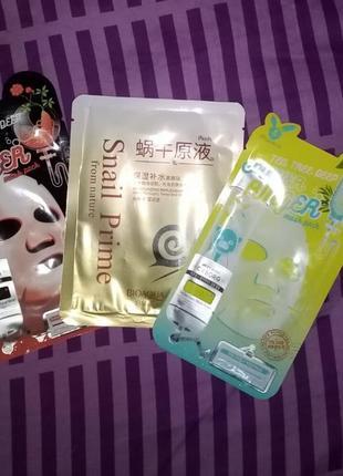 Тканевые маски 3 шт.