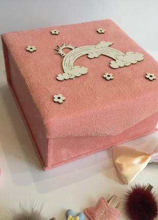 Коробочка скринька шкатулка для украшений прикрас