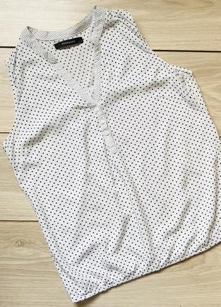 Блузка в горох
