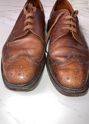 Броги туфли loake