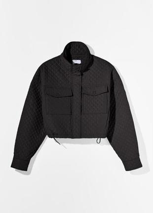 Куртка bershka стеганая в наличии новая с биркой5 фото