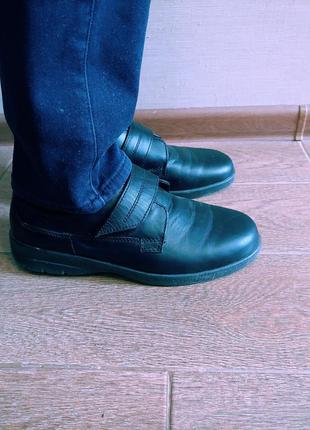 Туфли кожанные 42 ст.27,5 см
