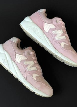 Кросівки new balance 580 pink кроссовки кроси кроссы
