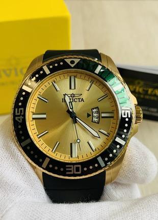 Invicta pro diver 21446 швейцарские кварцевые мужские наручные часы оригинал новые