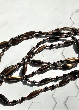 Ожерелье перламутровое винтаж