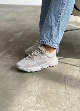 Женские летние демисезонные спортивные кроссовки adidas ozweego